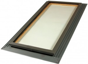 fixed glass skylight