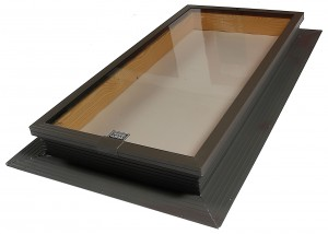 tile glass skylight