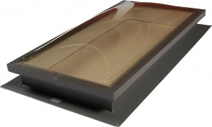 tile polycarbonate skylight