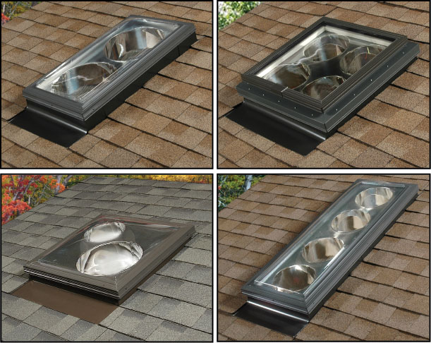 Spyder Multi-Tube Skylight System - Configurations